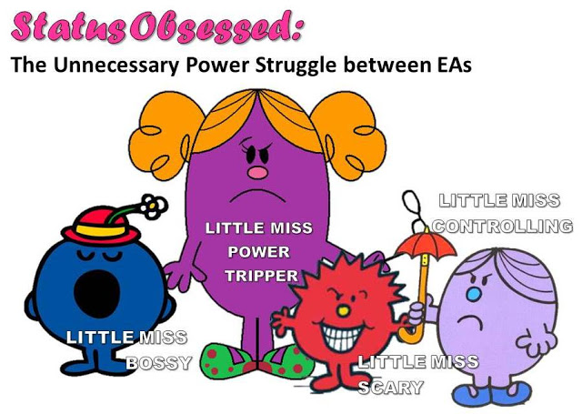 Status obsessed: The unnecessary power struggle between ...